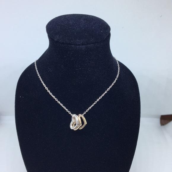 73980f3f9eea1 Triple heart charm necklace
